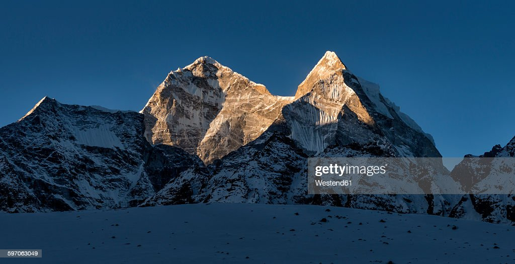 Nepal, Himalaya, Khumbu, Kangtega