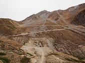 Nepal, Mustang, Chababru: New road towards Thorong Pass