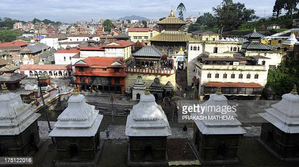 NepalconservationheritageUNESCOreligion by Deepak ADHIKARI A general view of the Pashupatinath temple in Kathmandu on July 31 3013 The UN's cultural...