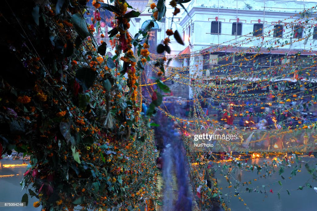 Bala Chaturdashi Festival in honor of departed soul in Nepal