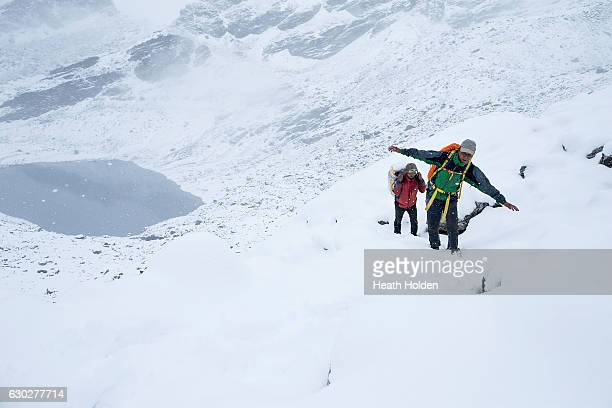 Nepalese mountain sherpa's like Sange Sherpa and porter Lahkpa Nuru have amazing stamina and strength ethnic Sherpas have a genetic advantage as...