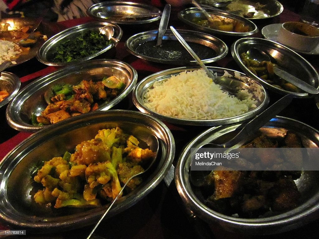 Nepali food : Stock Photo