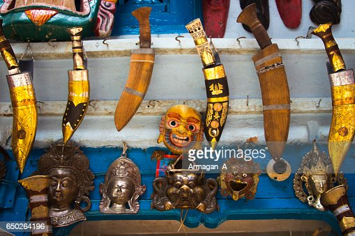 Nepali Handicrafts Stock Photo Thinkstock