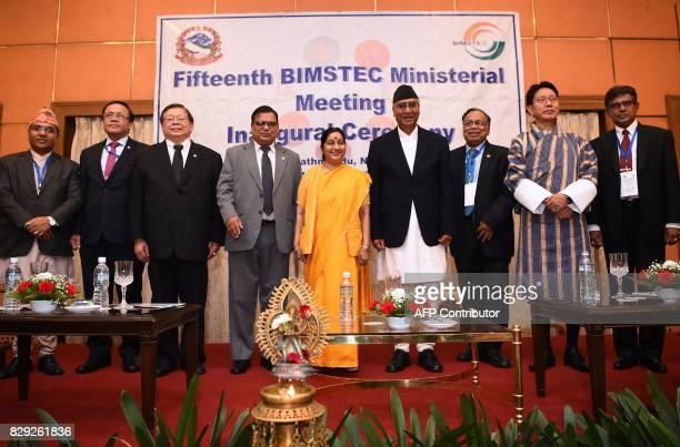 Nepal's Foreign Secretary Shanker Das Bairagi Myanmar Deputy Foreign Minister U Kyaaw Tin Thai Deputy Foreign Minister Virasakdi Futrakul Nepal's...