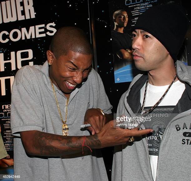Neptunes' Pharrell Williams and Nigo of Bape Clothing