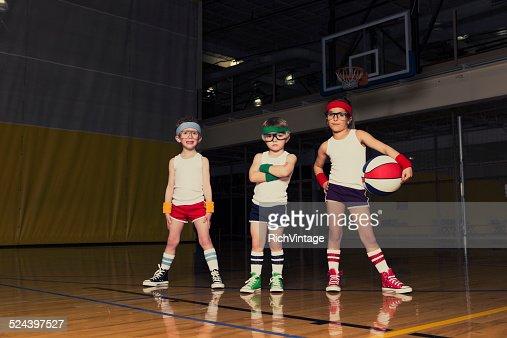 Grand dadais équipe de basket-ball