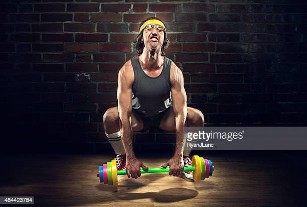 Nerd Weightlifter Lifting Kinder-Spielzeug Langhantel