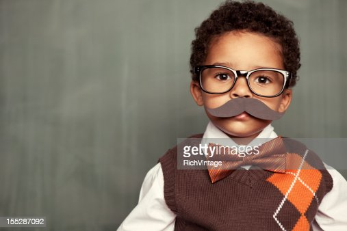 Nerd with Mustache