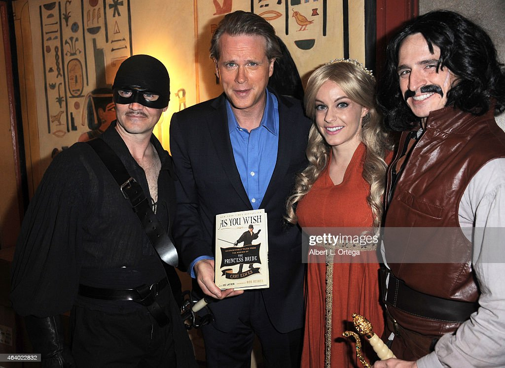 Nerds Like Us Host an Evening with Cary Elwes begining with a book signing for As You Wish Inconceivable Tales from The Princess Bride handprints in...