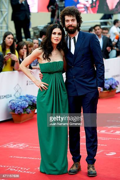 Nerea Barros attend the 'Solo Quimica' premiere during the 18th Malaga Spanish Film Festival at the Cervantes Theater on April 25 2015 in Malaga Spain