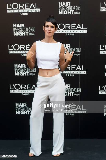 Nerea Barros attends Hair Fashion Night photocall at Callao Cinema on June 15 2017 in Madrid Spain