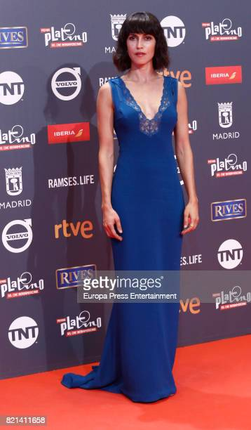Nerea Barros attends Platino Awards 2017 at La Caja Magica on July 22 2017 in Madrid Spain