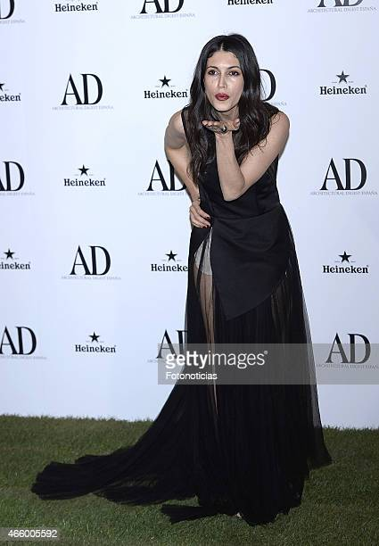 Nerea Barros attends the AD Architectural Digest 2015 Awards at The Ritz Hotel on March 12 2015 in Madrid Spain