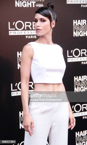 Nerea Barros attends the Hair Fashion Night photocall at Callao cinema on June 15 2017 in Madrid Spain