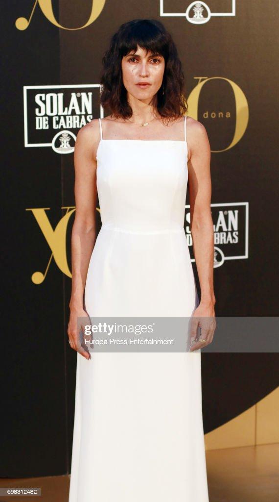 Nerea Barros attends the 'Yo Dona' International Awards at the Palacio de los Duques de Pastrana on June 19, 2017 in Madrid, Spain.