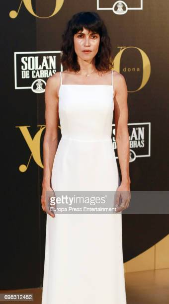 Nerea Barros attends the 'Yo Dona' International Awards at the Palacio de los Duques de Pastrana on June 19 2017 in Madrid Spain