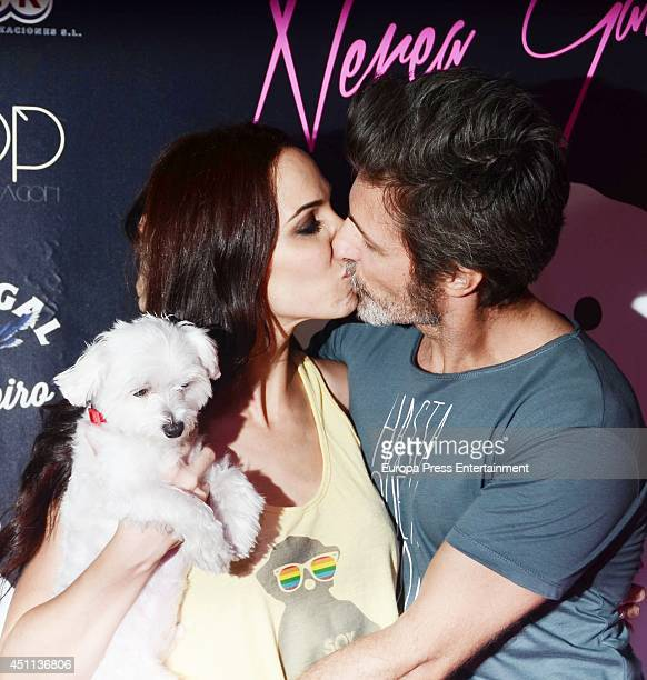 Nerea Garmendia and Jesus Olmedo attend the 'By Nerea' new fashion collection on June 23 2014 in Madrid Spain