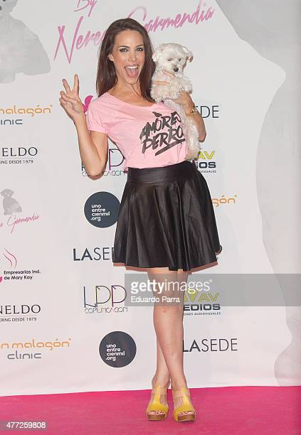 Nerea Garmendia attends 'By Nerea' 1st Anniversary photocall at COAM on June 15 2015 in Madrid Spain