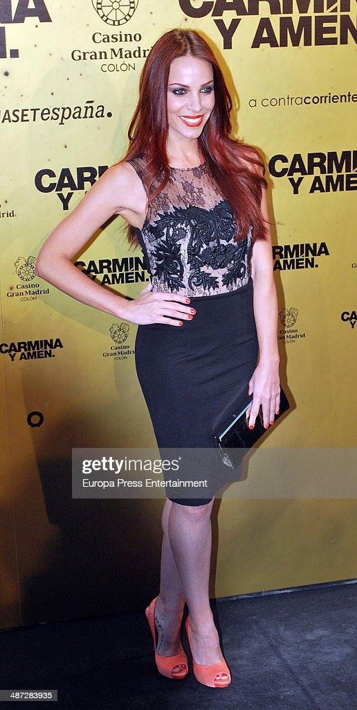 Nerea Garmendia attends 'Carmina Y Amen' Premiere on April 28 2014 in Madrid Spain