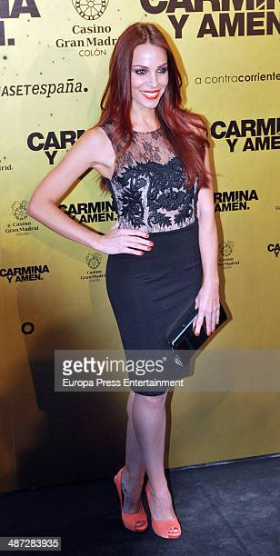 Nerea Garmendia attends 'Carmina Y Amen' Premiere on April 28 2014 in Madrid Spain