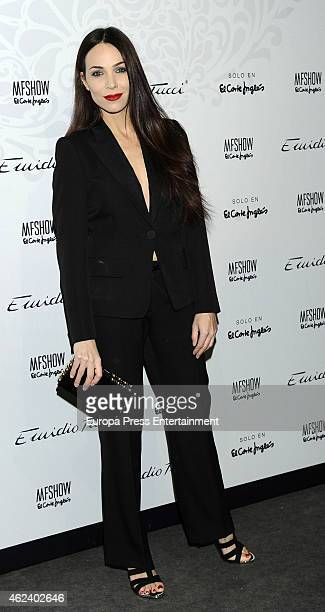 Nerea Garmendia attends Emidio Tucci fashion show photocall at Price Circus on January 27 2015 in Madrid Spain
