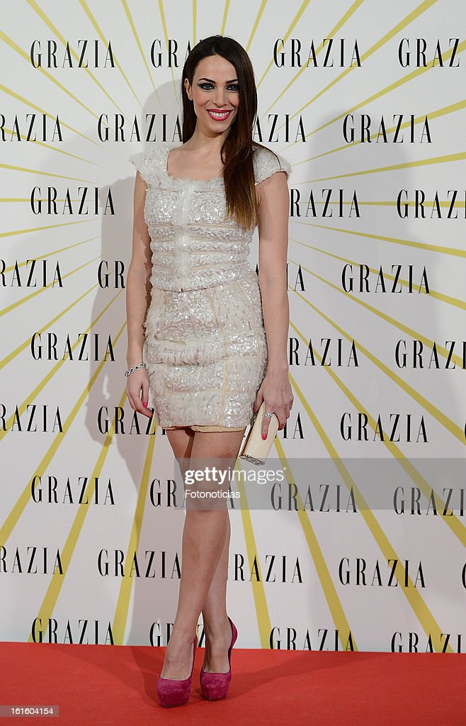 Nerea Garmendia attends Grazia Magazine launch party at the Circo Prize Theater on February 12, 2013 in Madrid, Spain.