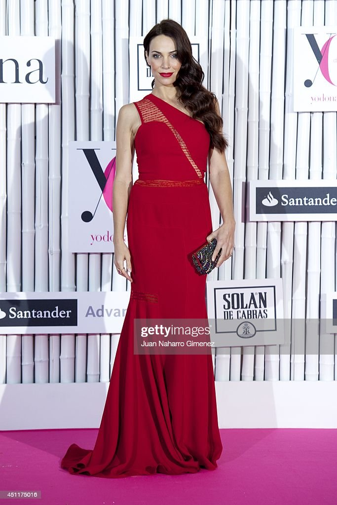 Nerea Garmendia attends 'IX International Yo Dona Awards' at Zarzuela Hippodrome on June 24 2014 in Madrid Spain