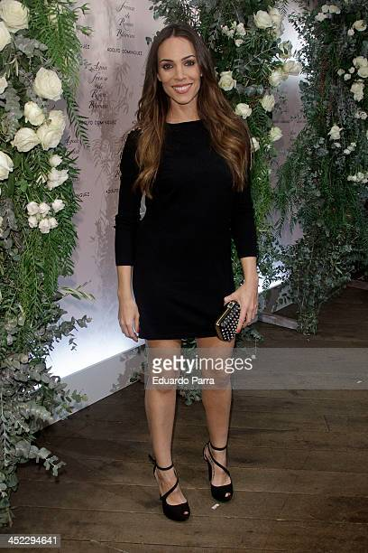 Nerea Garmendia attends 'La Cristalizacion De La Rosa Blanca' party photocall at Adolfo Dominguez store on November 27 2013 in Madrid Spain