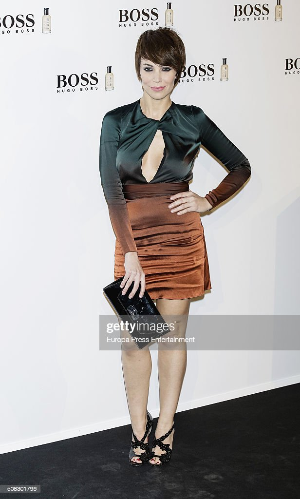 Nerea Garmendia attends 'Man Of Today' campaign at Eurobuilding hotel on February 3 2016 in Madrid Spain