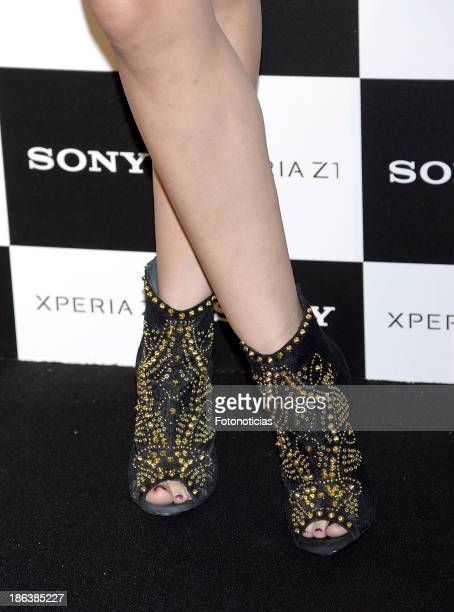 Nerea Garmendia attends Sony Xperia Z1 photography exhibition at the Real Jardin Botanico on October 30 2013 in Madrid Spain