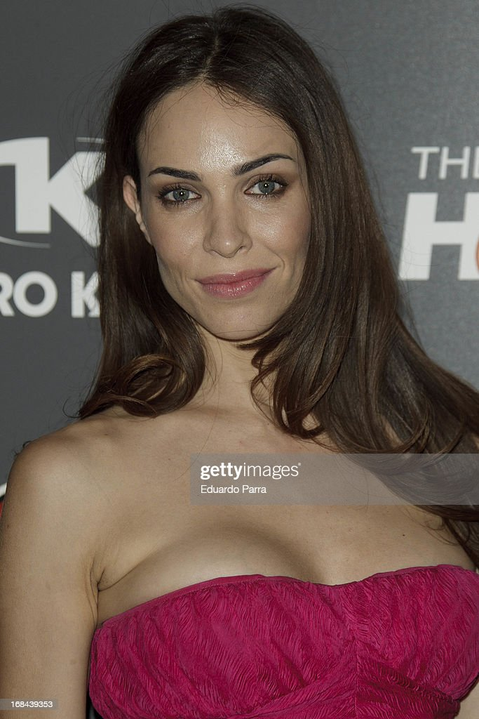 Nerea Garmendia attends 'The crazy hole' premiere photocall at Kapital theatre on May 9, 2013 in Madrid, Spain.