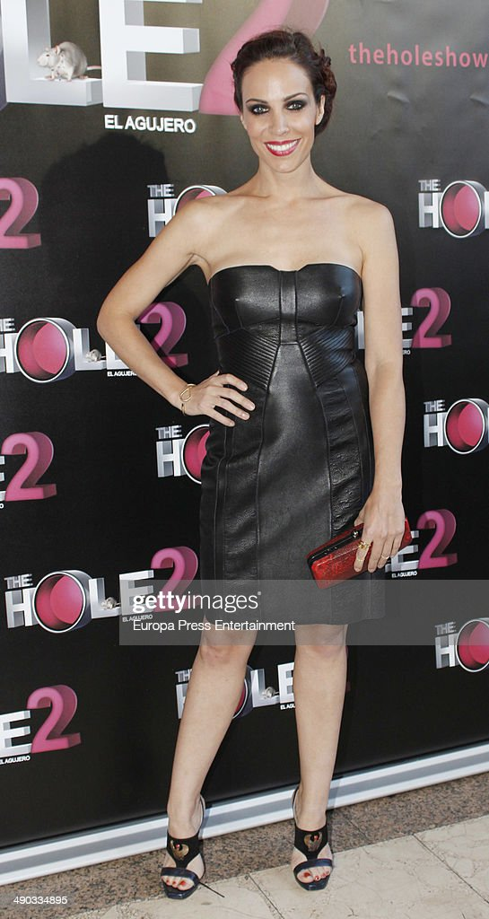 Nerea Garmendia attends 'The Hole 2' closing party photocall on May 13 2014 in Madrid Spain