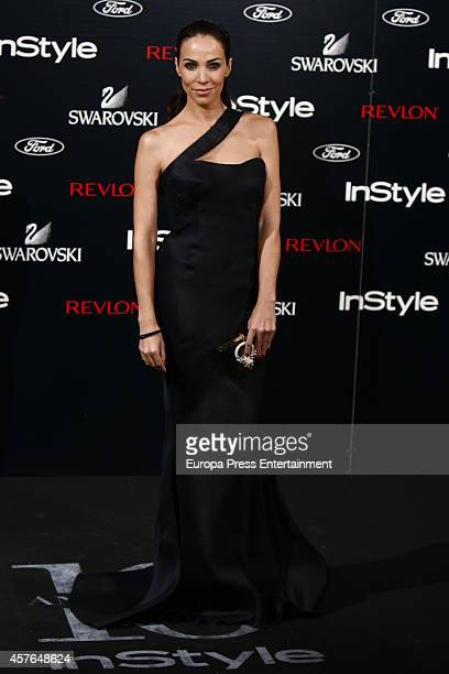 Nerea Garmendia attends the InStyle Magazine 10th anniversary party on October 21 2014 in Madrid Spain