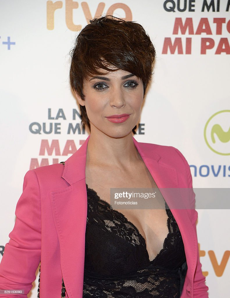 Nerea Garmendia attends the 'La Noche Que Mi Madre Mato a Mi Padre' premiere at Palacio de la Prensa Cinema on April 27 2016 in Madrid Spain
