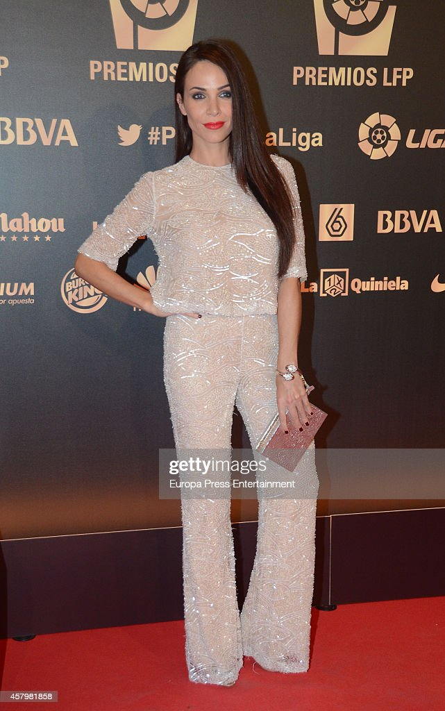 Nerea Garmendia attends the LFP Awards Gala 2014 on October 27 2014 in Madrid Spain