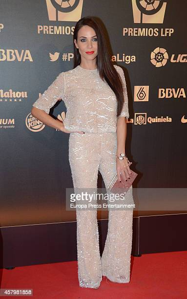 Nerea Garmendia attends the LFP Awards Gala 2014 on October 27 2014 in Madrid Spain
