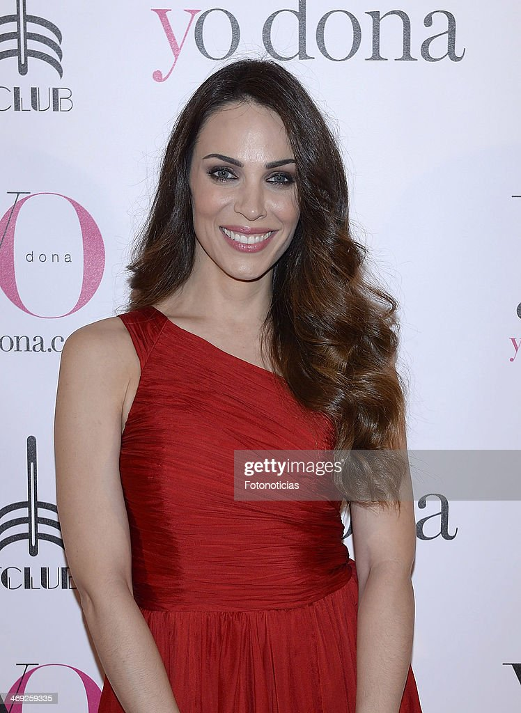 Nerea Garmendia attends 'Yo Dona' magazine party at Barcelo theater on February 13 2014 in Madrid Spain