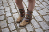 Nerea is wearing boots from Kiboots at the Sonar Music Festival on June 14 2014 in Barcelona Spain