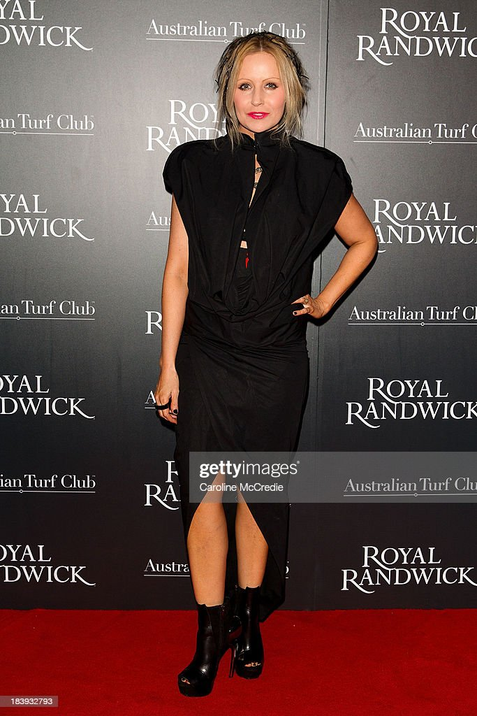 Nerida Winter attends the Gala Launch event to celebrate the new Australian Turf on October 10, 2013 in Sydney, Australia.
