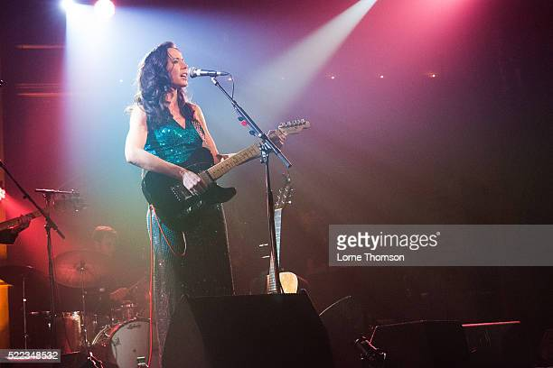 Nerina Pallot performs at the Union Chapel on April 18 2016 in London England