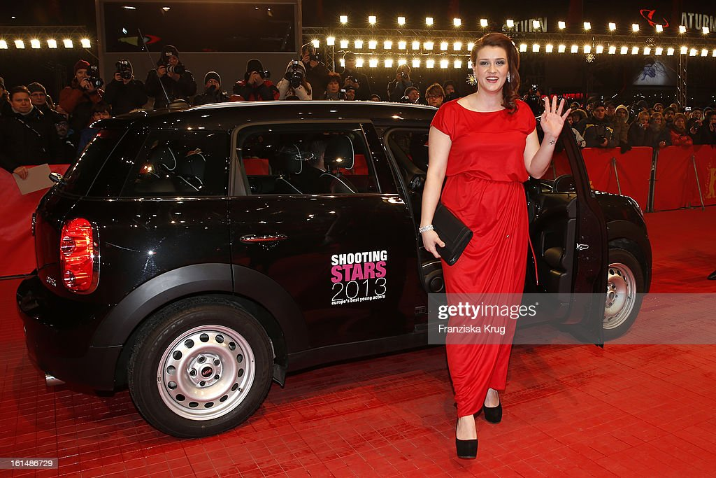 Nermina Lukac attends 'Mini Shooting Stars' - BMW at the 63rd Berlinale International Film Festival at the Berlinale-Palast on February 11, 2013 in Berlin, Germany.