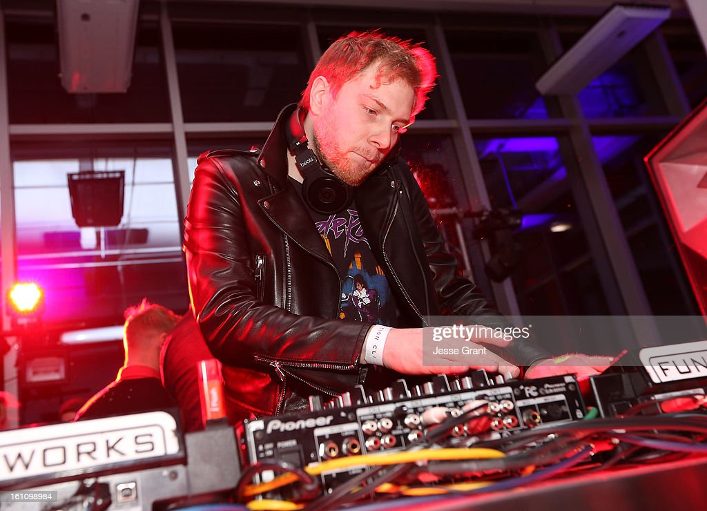 Nero attends the Skrillex, Diplo, Kaskade, Nero And Tommy Trash Perform Live, Supporting DANCE (RED), SAVE LIVES presented by Beats by Dr. Dre event at the AT&T Center on February 8, 2013 in Los Angeles, California.
