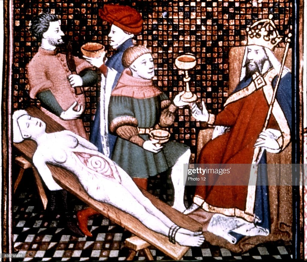 nero dissecting his mother pictures getty images
