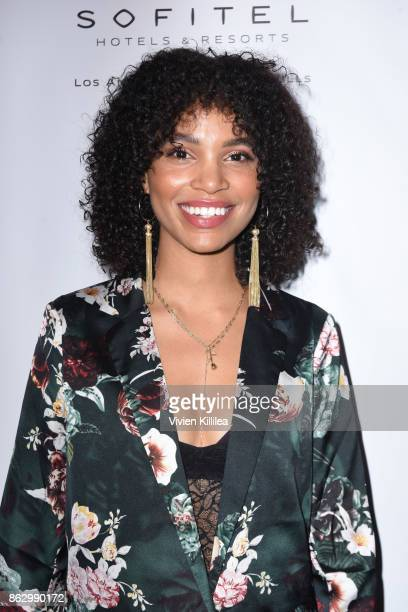 Nesta Cooper attends Childhelp Hollywood Heroes on October 18 2017 in Beverly Hills California
