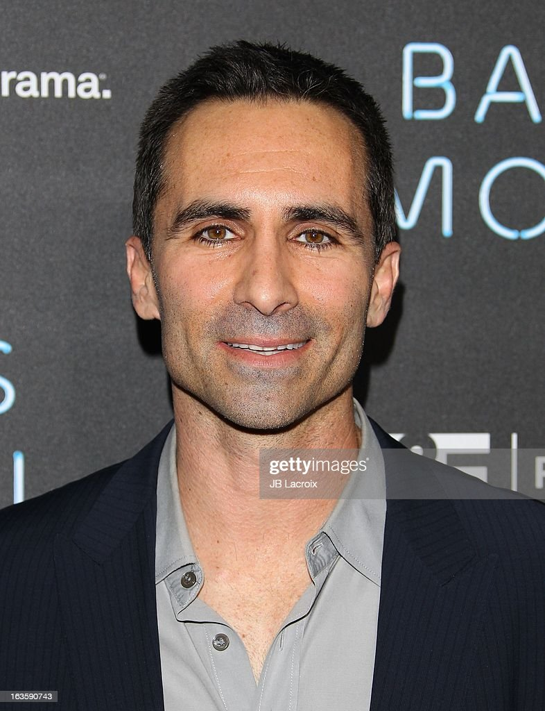 <a gi-track='captionPersonalityLinkClicked' href=/galleries/search?phrase=Nestor+Carbonell&family=editorial&specificpeople=683517 ng-click='$event.stopPropagation()'>Nestor Carbonell</a> attends the A&E new series premiere of 'Bates Motel' at Soho House on March 12, 2013 in West Hollywood, California.