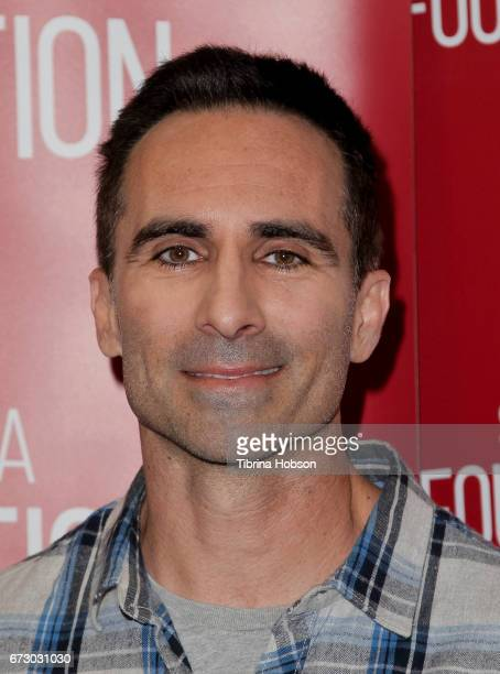 Nestor Carbonell attends the SAGAFTRA Foundation Conversations and QA for 'Bates Motel' at SAGAFTRA Foundation Screening Room on April 25 2017 in Los...