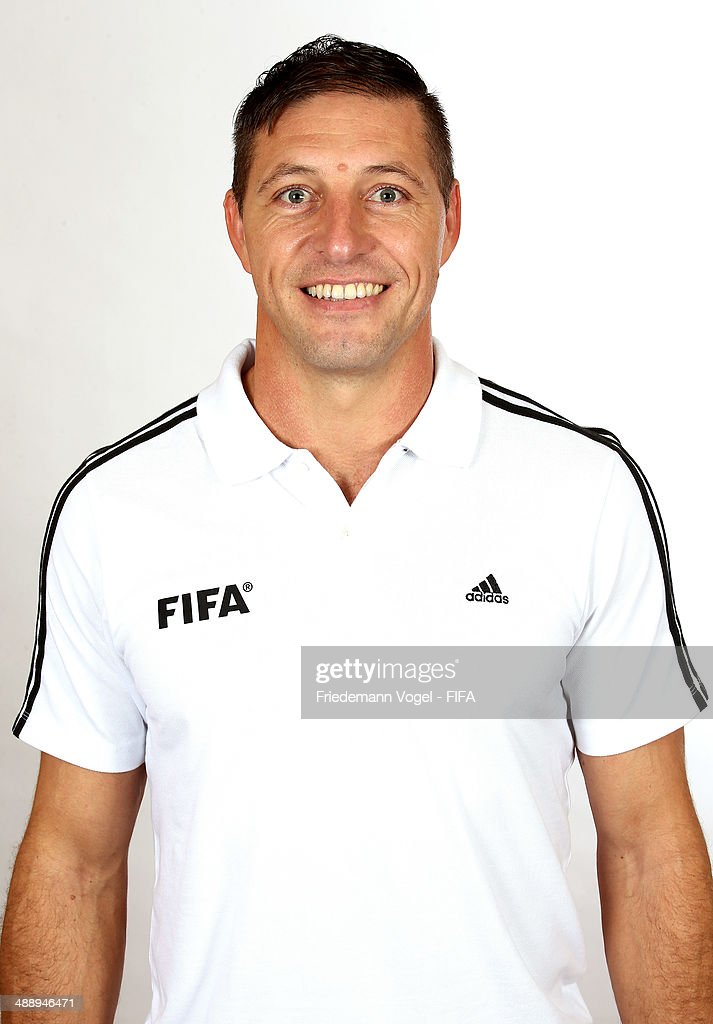 Nestor Fabian Pitana poses during the Workshop for Prospective Referees for the 2014 FIFA World Cup at the Windsor Barra Hotel on May 27, 2013 in Rio de Janeiro, Brazil.