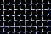 Soccer Net on Black as Design Element