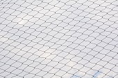 Net pattern. Rope net silhouette. Soccer and football net pattern.