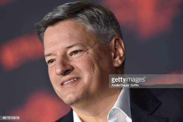 Netflix CCO Ted Sarandos arrives at the premiere of Netflix's 'Stranger Things' Season 2 at Regency Bruin Theatre on October 26 2017 in Los Angeles...